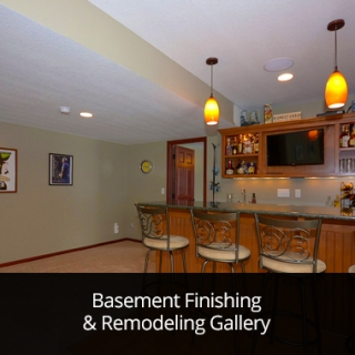 Basement Finishing & Remodeling Gallery