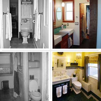 Old House Bathroom Remodel Bathroom Transformations Before And After Photos  Iron River .
