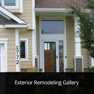 Exterior Remodeling Gallery