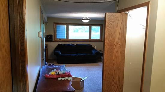 light basement water damage restoration chaska mn 1